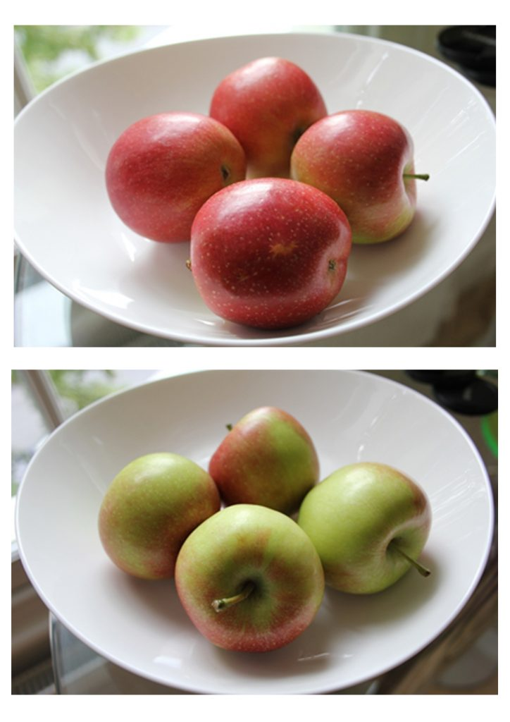 red-and-green-apples